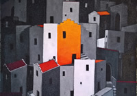 The Orange House 60x50